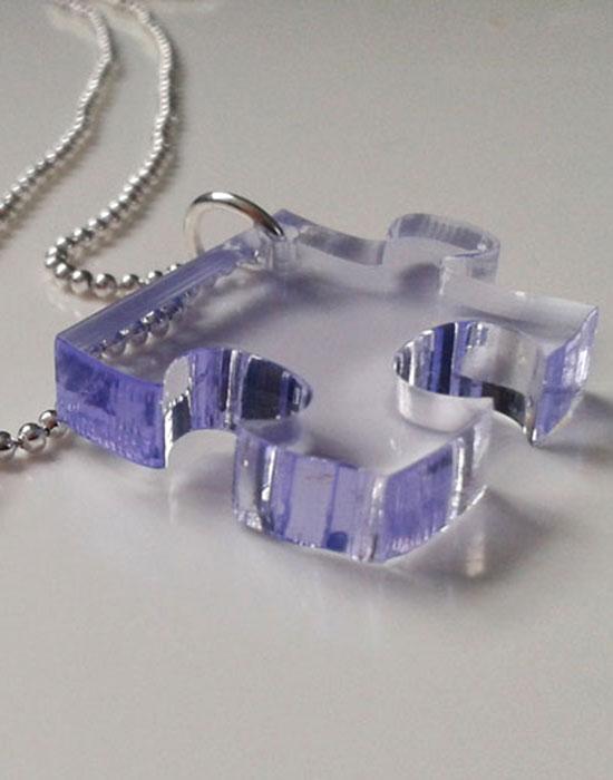 BFF Jigsaw neckalce set